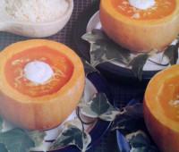 Recetas: Sopa crema de calabazas