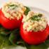 Facilísimos tomates rellenos gratinados