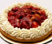 Riquísima Torta roja y blanca