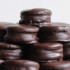 Deliciosos alfajores de chocolate
