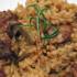Riquísimo Arroz con cordero y cebolla