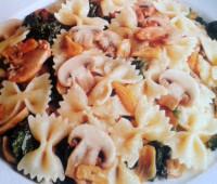 Recetas: Fideos con salsa de verduras