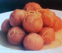 Riquísimas Masitas crocantes con salsa de limón