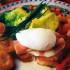 Palmeritas con huevos y ensaladas