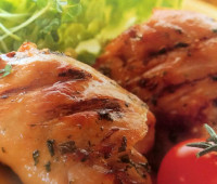 Delicioso Pollo con lima y menta