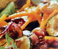 Ensalada de hortalizas con estragón