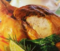 Pollo asado para compartir en familia