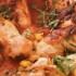Delicioso Pollo con choclo y judías