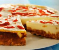 Original Tarta de queso con base de galleta