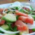 Riquísima Ensalada de tomates y palta