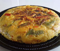 Manos a la obra!!! Tortilla original de vegetales