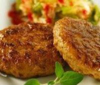 Como hacer unas riquísimas milanesas con hamburguesas de pollo