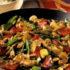Riquísimo Salteado de vegetales con pollo