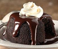Cómo preparar un riquísimo Volcán de Chocolate