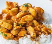 Delicioso Pollo al curry para compartir