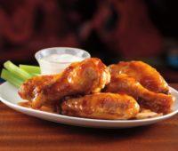 Alitas de pollo Picantes para compartir