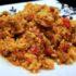 Rico Arroz con verduras y carne para compartir