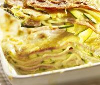 Riquísima Lasaña de berenjenas y zucchini