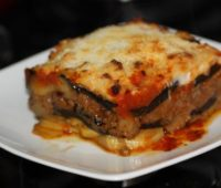 Riquísimas Berenjenas con queso cocidas al horno