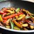 Vegetales salteados deliciosos
