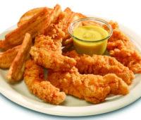 Delicioso Pollo frito para una cena con amigos