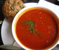 Sopa de tomates o Gazpacho: Receta fácil