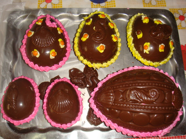 Ideas para decorar un huevo de pascua cocinachic - Huevos decorados de pascua ...
