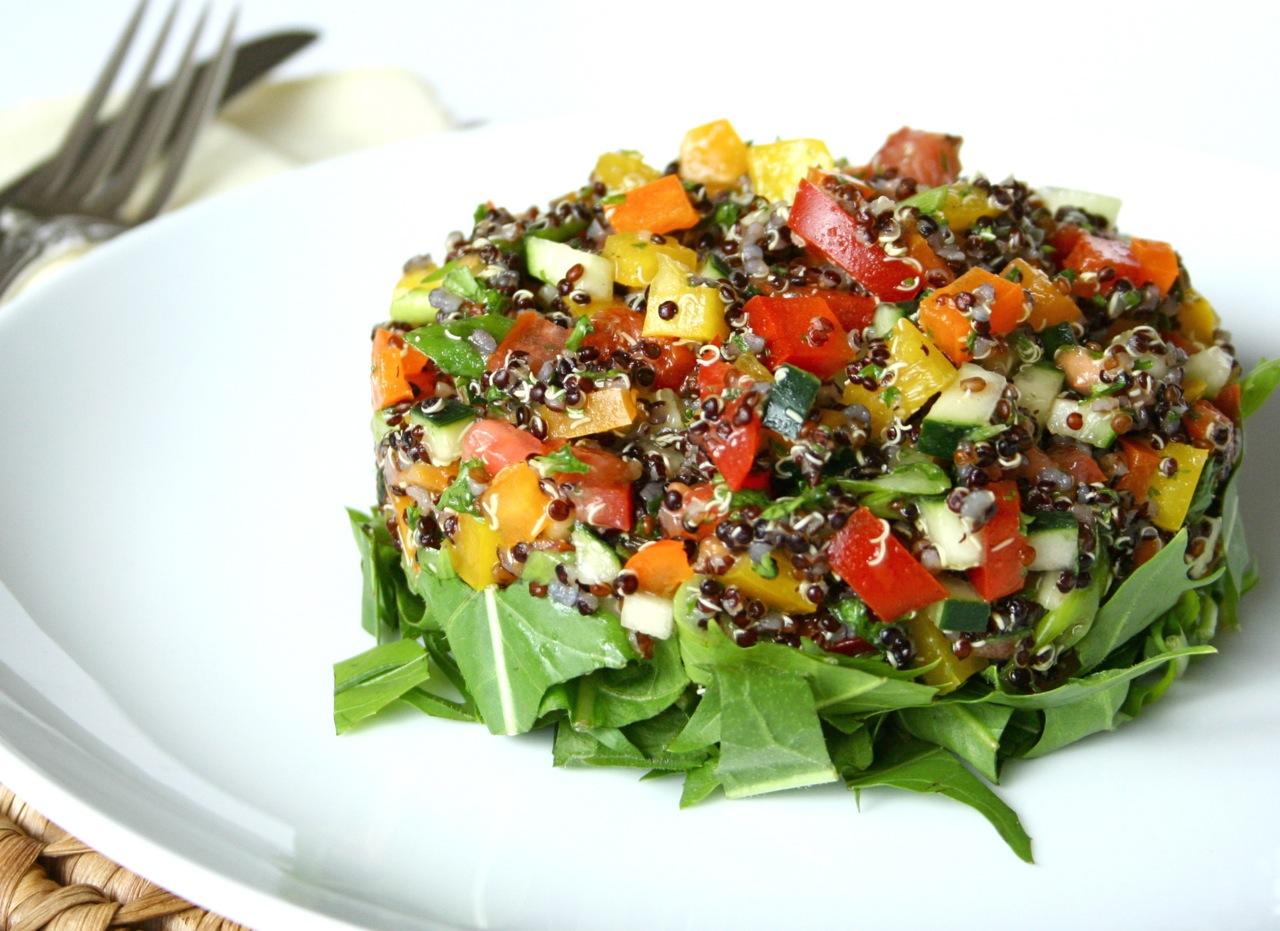 Quinoa con verduras cocinachic - Cocinar quinoa con verduras ...