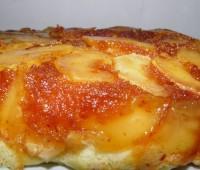 Tarta invertida de manzanas estilo Maura