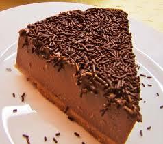 tarta chocolate, cafe y queso
