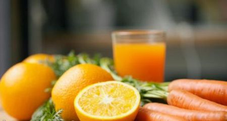 Batido-de-naranja-y-zanahoria-para-adelgazar