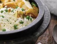 Ensalada de pollo: Receta de arroz con arvejas