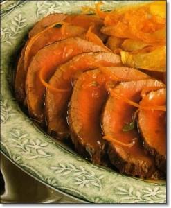 peceto con naranja