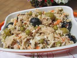 arroz con atun y aceitunas