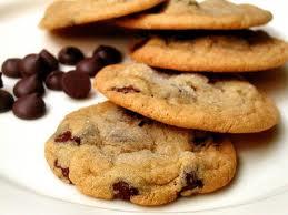 cookies de chocolate y copos