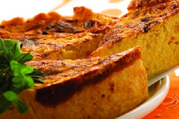 tarta ricota y calabaza