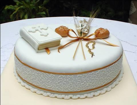tortas de comunion biblia