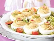 Receta: Huevos rellenos cocinachic