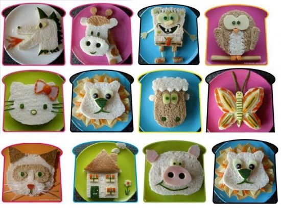 cocina sandwiches divertidos1896781_534721123320843_1382582849_n