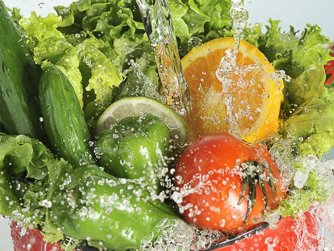 desinfectar frutas y verduras