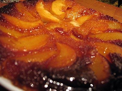 Receta budin de pera y manzana