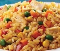 Sabroso arroz con pollo