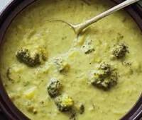 Sopa de pollo con Brócoli