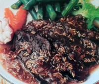 Riquísimos Bifecitos de cuadril con arroz