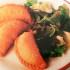 Riquísimas empanadas de verdeo y mozzarella