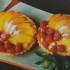 Tarteletas de duraznos y de frutillas