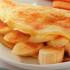 Recetas dulces: Tortilla dulce con bananas