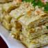 Que rico!!! Mil hojas de queso y vegetales