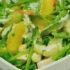 Ensalada de choclo y palta para compartir en un almuerzo saludable