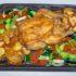 Sabroso Pollo al horno con vegetales para compartir en familia